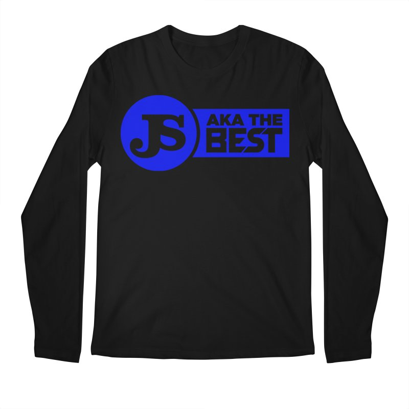 JS aka The Best (Blue) Men's Longsleeve T-Shirt by Weapon X Evolution merchandise
