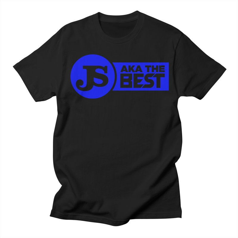 JS aka The Best (Blue) Men's T-Shirt by Weapon X Evolution merchandise