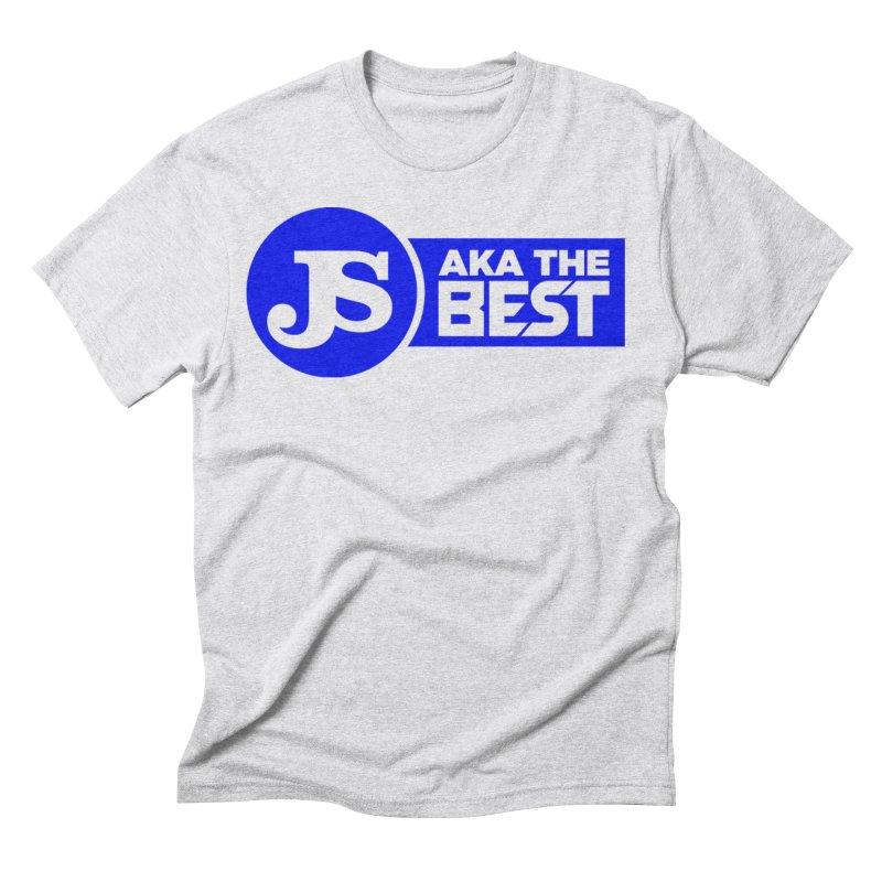 JS aka The Best (Blue) Men's T-Shirt by Weapon X Evolution merchandise