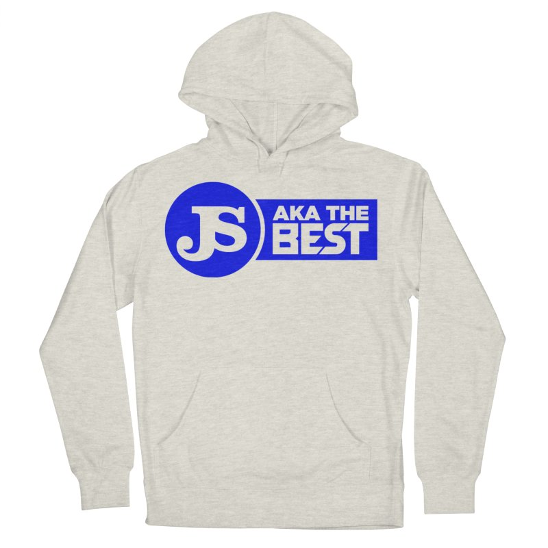 JS aka The Best (Blue) Women's French Terry Pullover Hoody by Weapon X Evolution merchandise