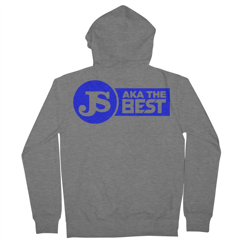 JS aka The Best (Blue) Women's Zip-Up Hoody by Weapon X Evolution merchandise