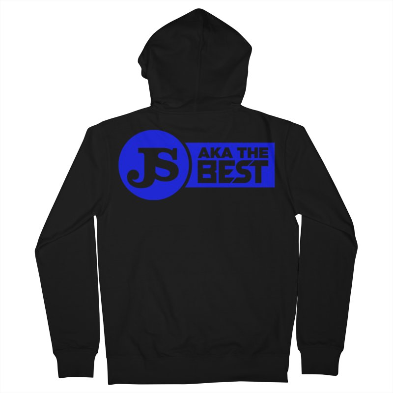JS aka The Best (Blue) Men's French Terry Zip-Up Hoody by Weapon X Evolution merchandise