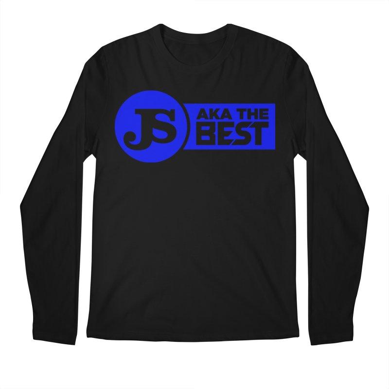 JS aka The Best (Blue) Men's Longsleeve T-Shirt by Weapon X Evolution merchandise