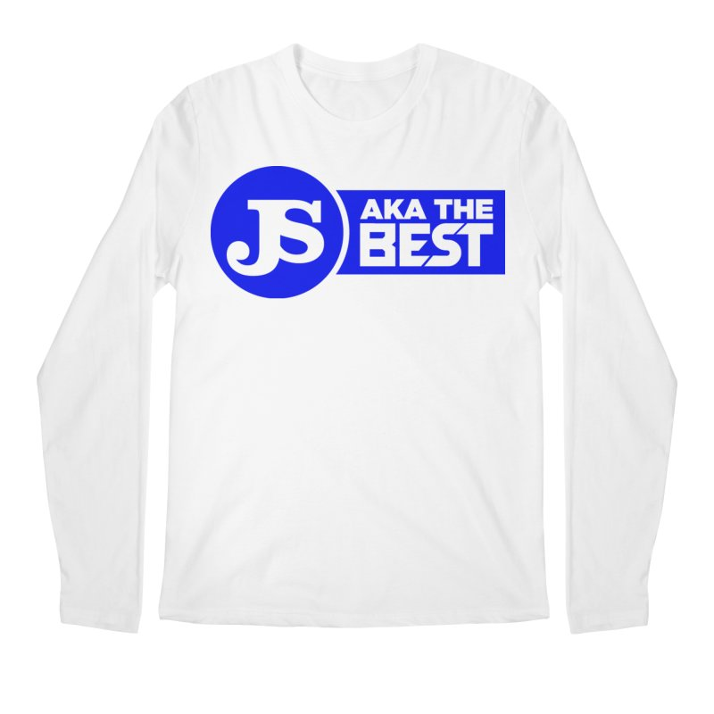 JS aka The Best (Blue) Men's Regular Longsleeve T-Shirt by Weapon X Evolution merchandise