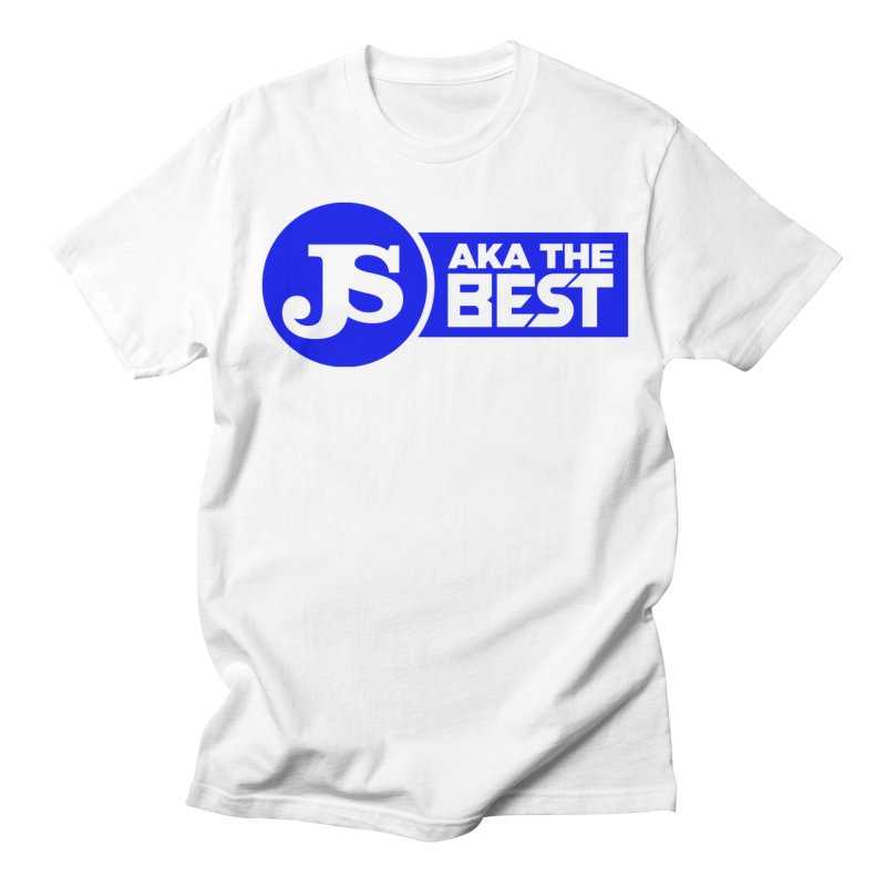 JS aka The Best (Blue) Men's Regular T-Shirt by Weapon X Evolution merchandise