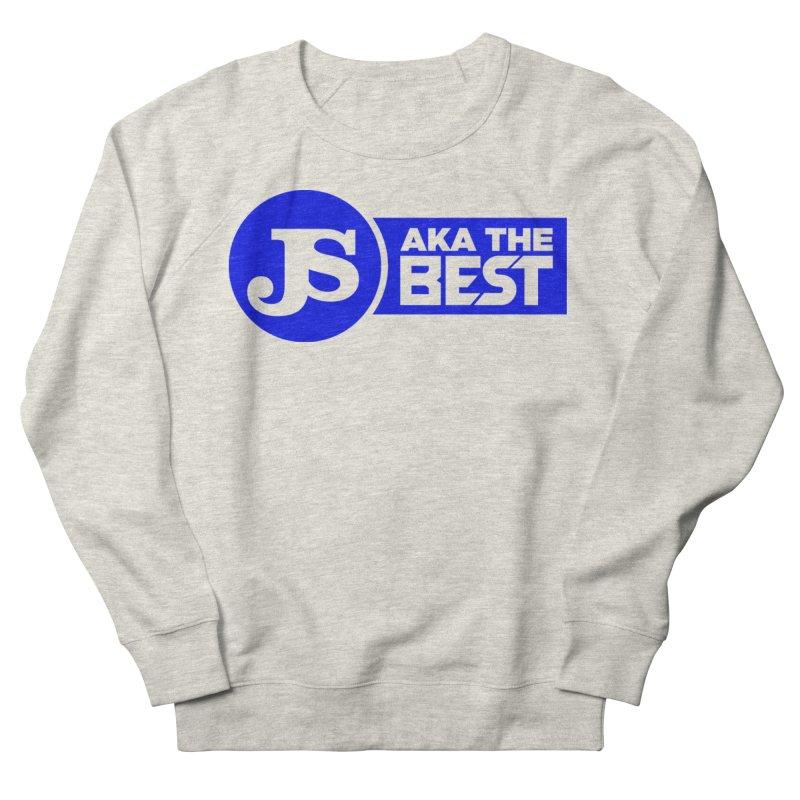 JS aka The Best (Blue) Women's French Terry Sweatshirt by Weapon X Evolution merchandise