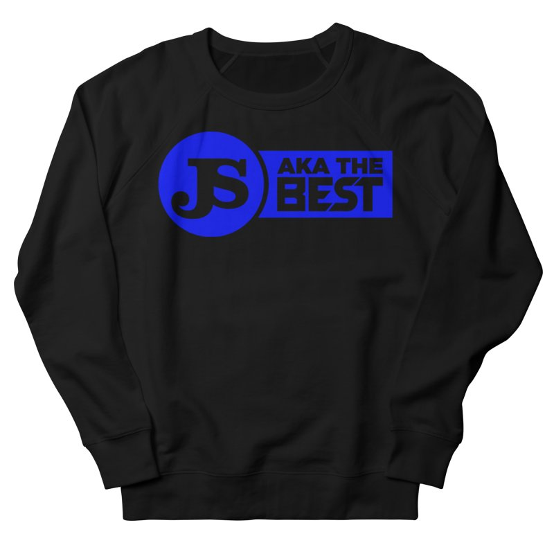 JS aka The Best (Blue) Men's French Terry Sweatshirt by Weapon X Evolution merchandise