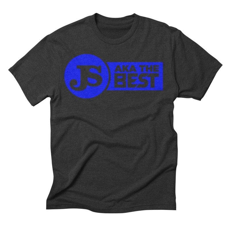 JS aka The Best (Blue) Men's Triblend T-Shirt by Weapon X Evolution merchandise