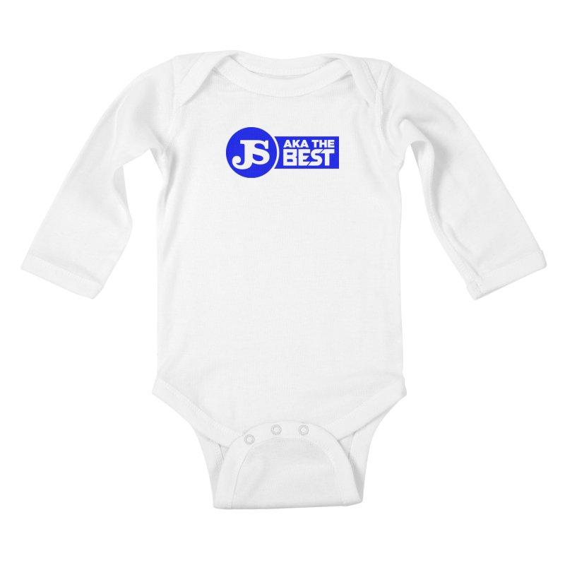 JS aka The Best (Blue) Kids Baby Longsleeve Bodysuit by Weapon X Evolution merchandise