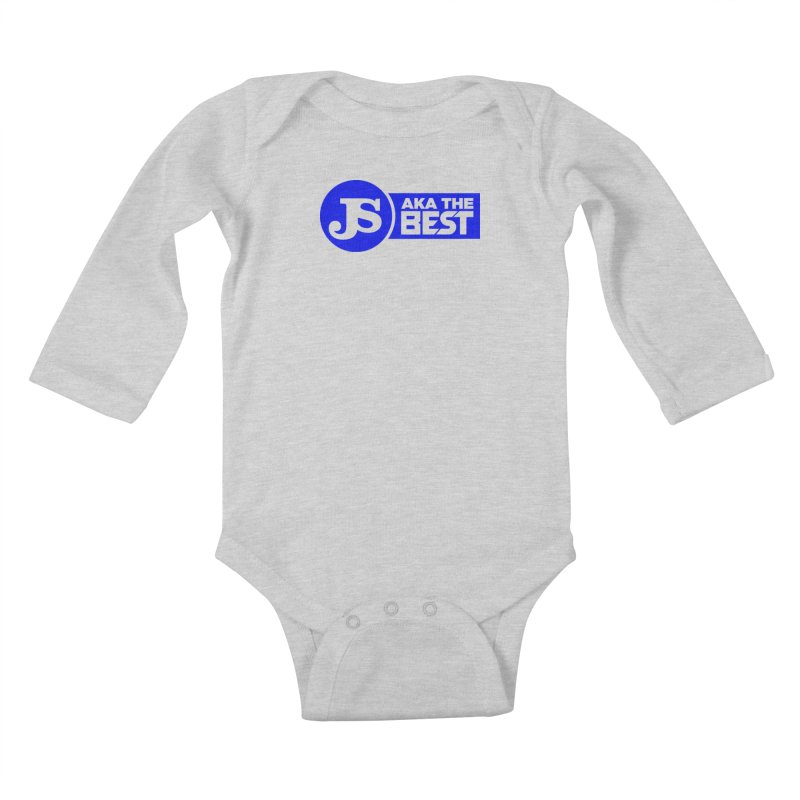 JS aka The Best (Blue) Kids Baby Longsleeve Bodysuit by Weapon X Evolution merchandise