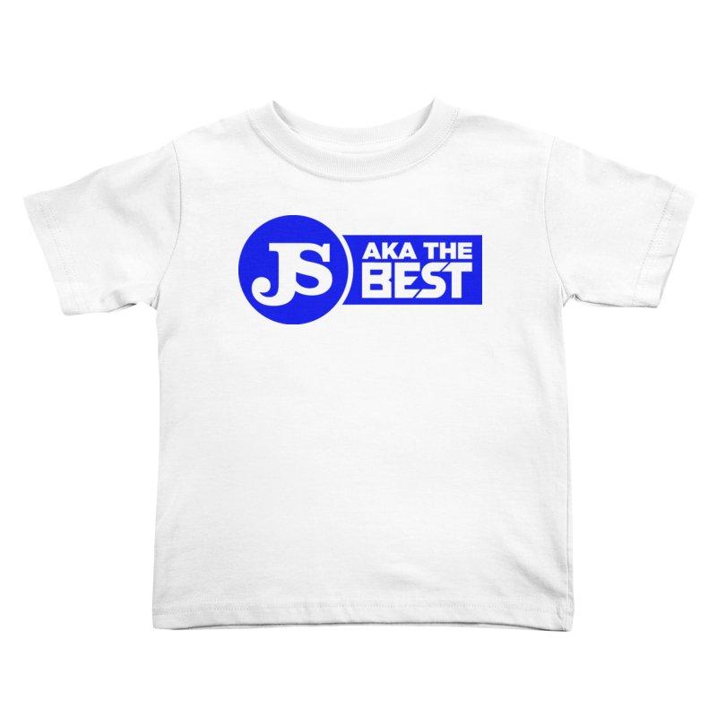 JS aka The Best (Blue) Kids Toddler T-Shirt by Weapon X Evolution merchandise