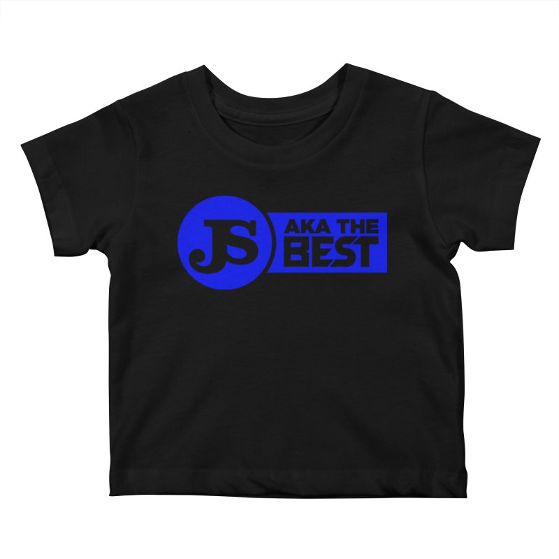 JS aka The Best (Blue) Kids Baby T-Shirt by Weapon X Evolution merchandise