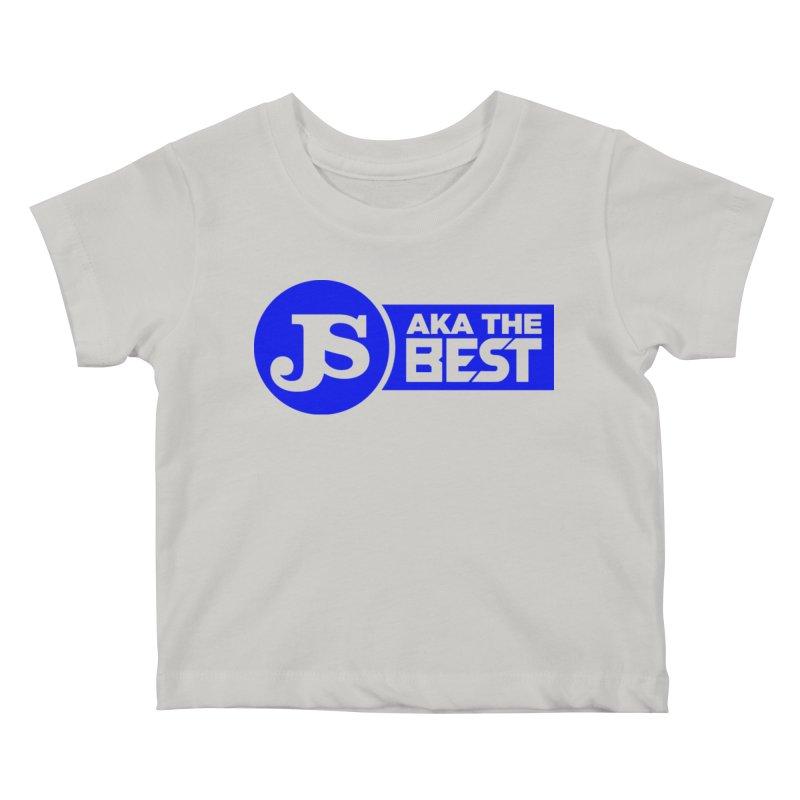JS aka The Best (Blue) Kids Baby T-Shirt by Weapon X Evolution merchandise