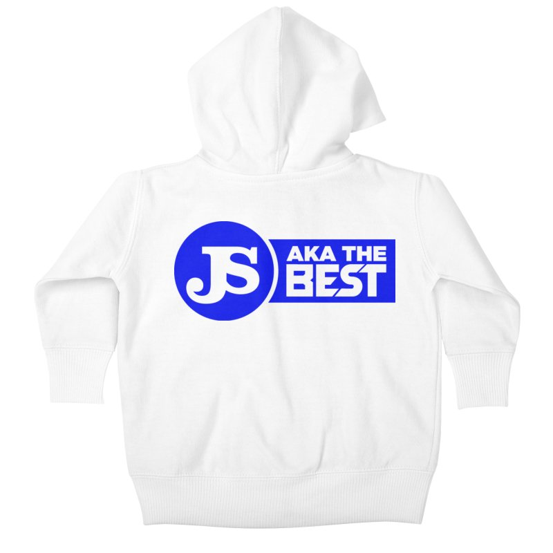 JS aka The Best (Blue) Kids Baby Zip-Up Hoody by Weapon X Evolution merchandise