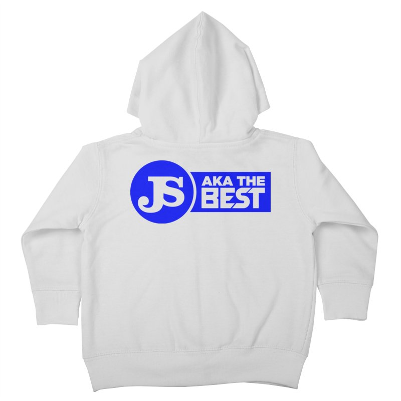 JS aka The Best (Blue) Kids Toddler Zip-Up Hoody by Weapon X Evolution merchandise