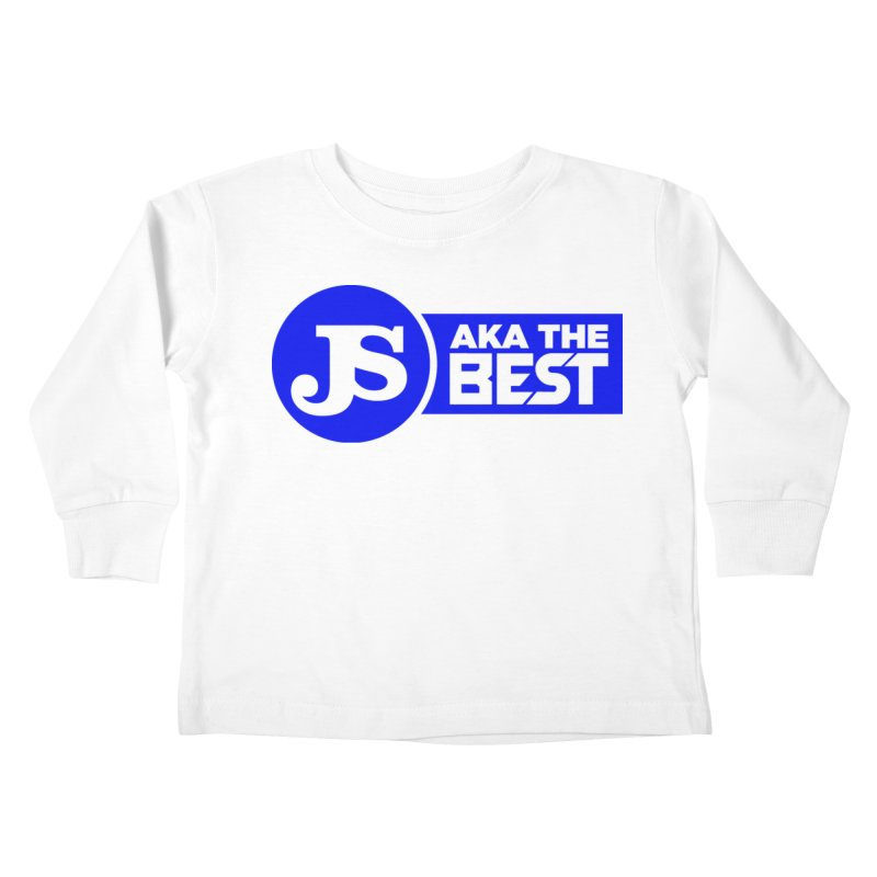 JS aka The Best (Blue) Kids Toddler Longsleeve T-Shirt by Weapon X Evolution merchandise