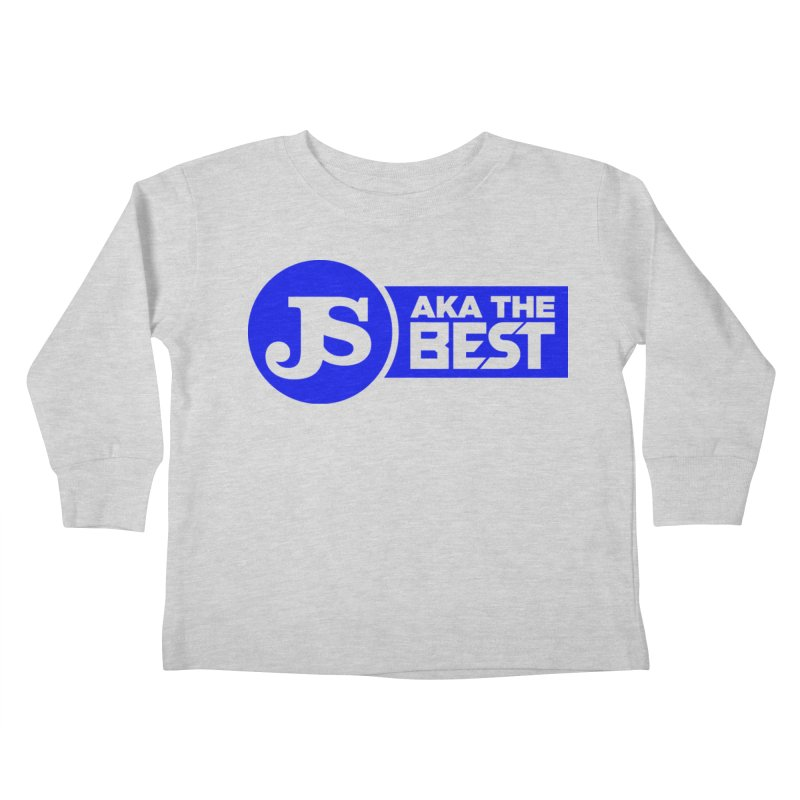JS aka The Best (Blue) Kids Toddler Longsleeve T-Shirt by Weapon X Evolution merchandise