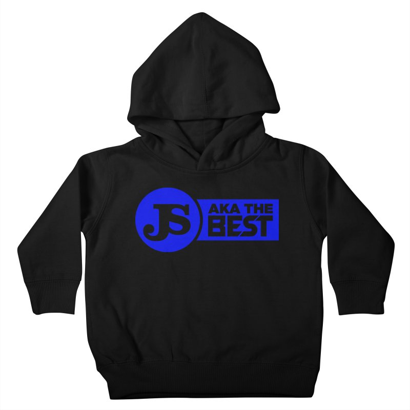 JS aka The Best (Blue) Kids Toddler Pullover Hoody by Weapon X Evolution merchandise