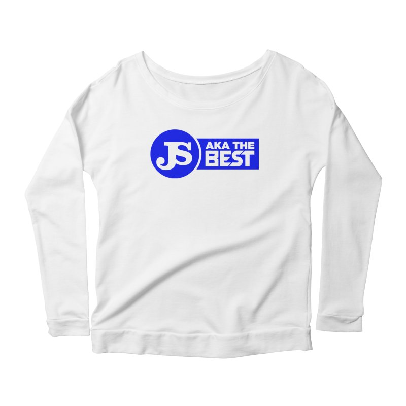JS aka The Best (Blue) Women's Scoop Neck Longsleeve T-Shirt by Weapon X Evolution merchandise