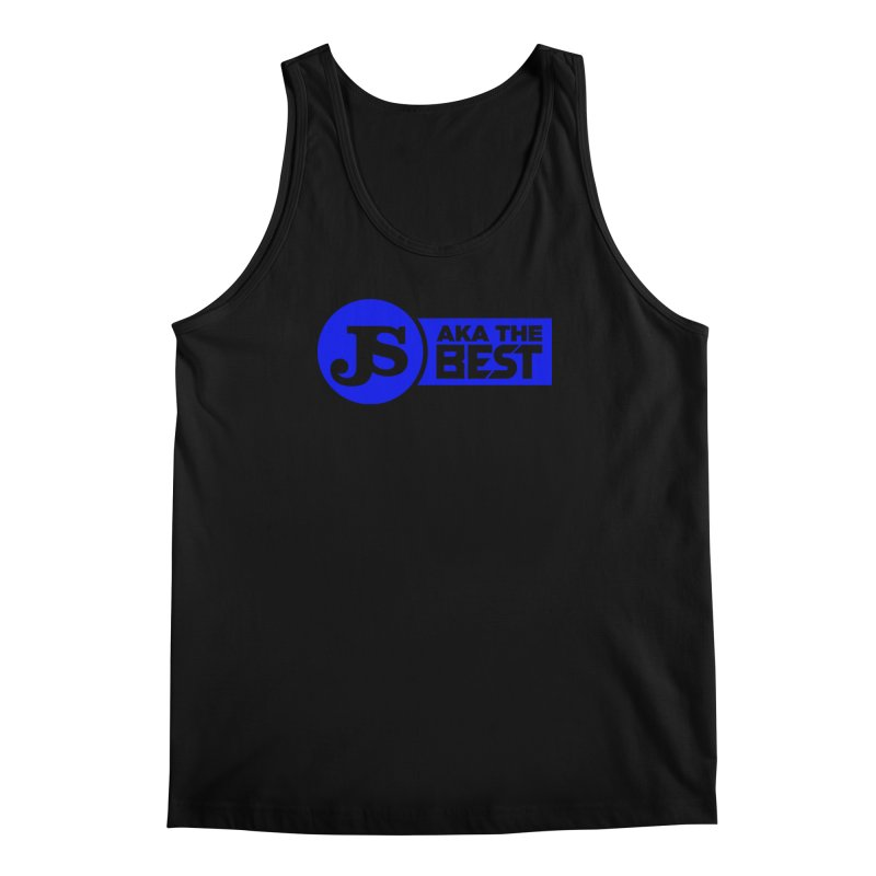 JS aka The Best (Blue) Men's Tank by Weapon X Evolution merchandise