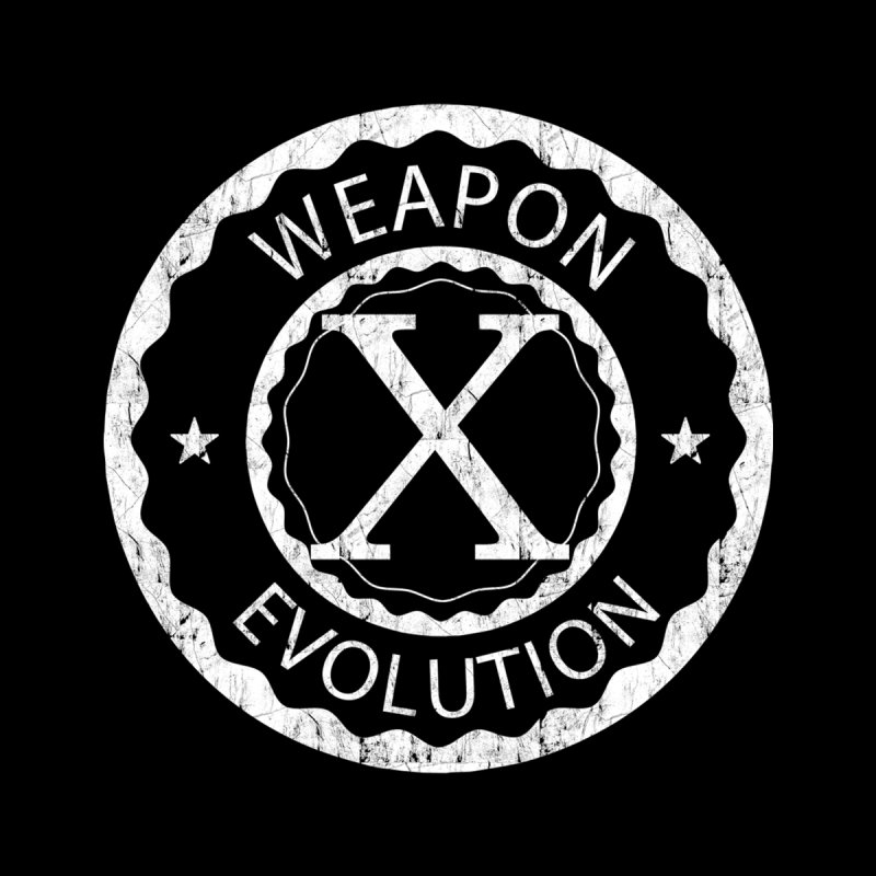 Weapon X Evolution (Black) Men's Zip-Up Hoody by Weapon X Evolution merchandise
