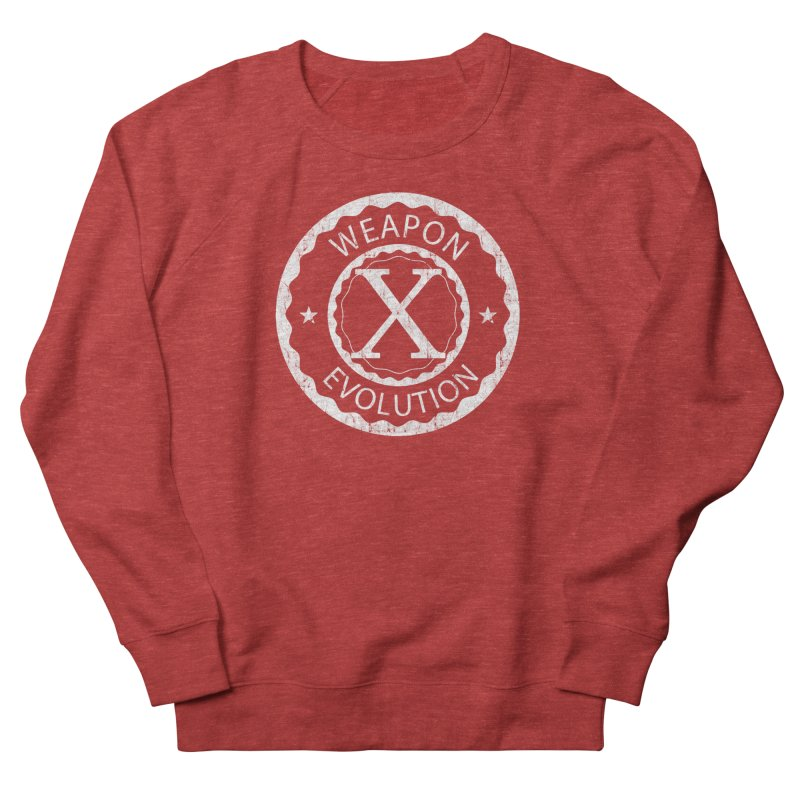 Weapon X Evolution (Black) Women's French Terry Sweatshirt by Weapon X Evolution merchandise