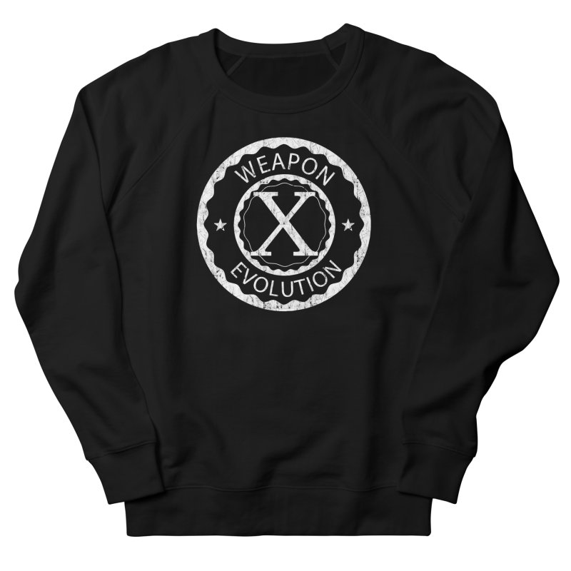 Weapon X Evolution (Black) Men's French Terry Sweatshirt by Weapon X Evolution merchandise