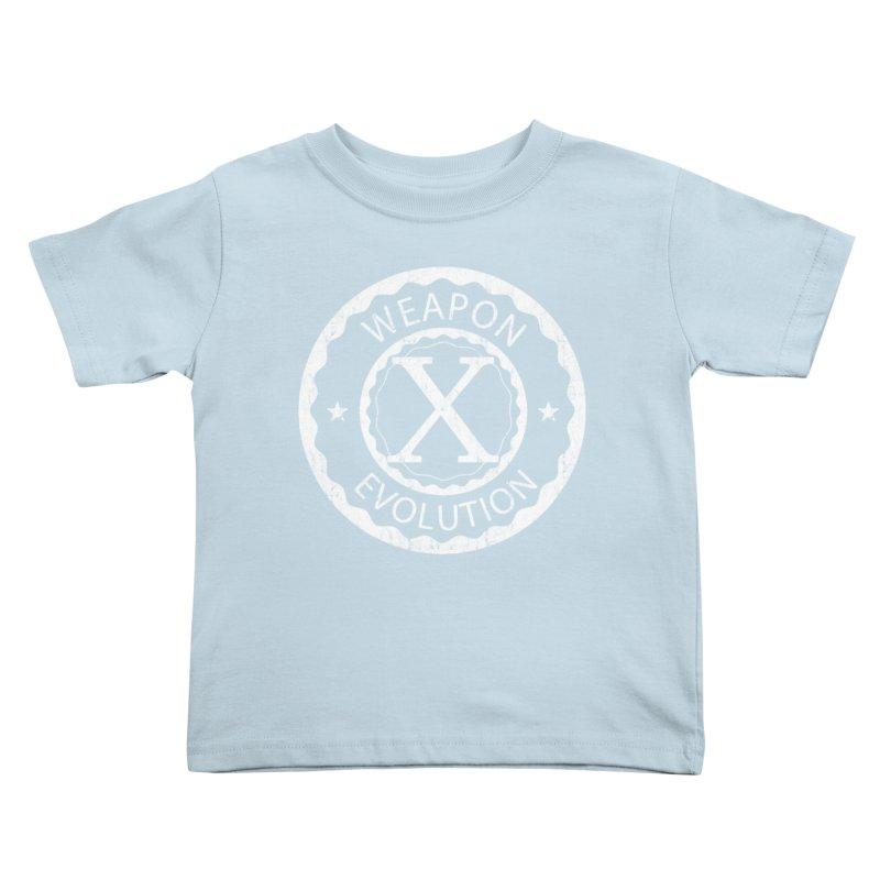 Weapon X Evolution (Black) Kids Toddler T-Shirt by Weapon X Evolution merchandise