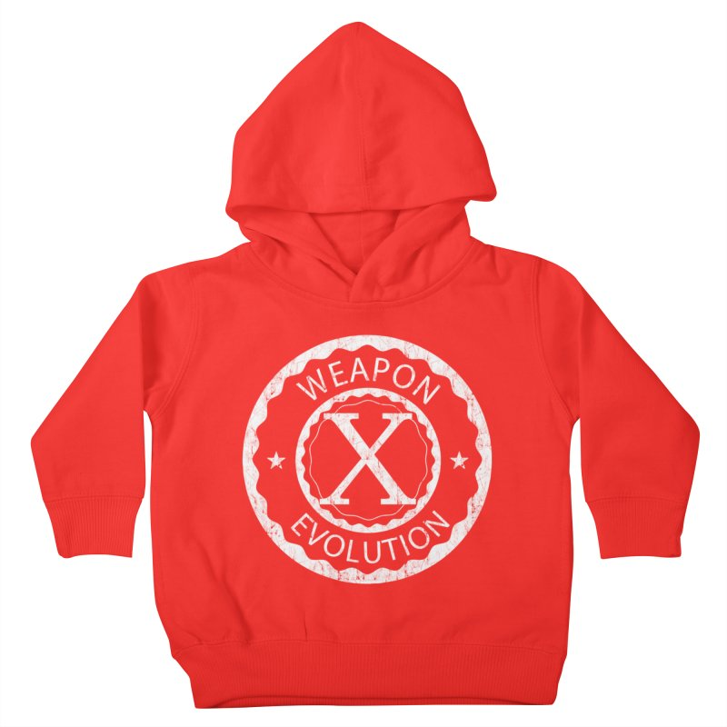 Weapon X Evolution (Black) Kids Toddler Pullover Hoody by Weapon X Evolution merchandise
