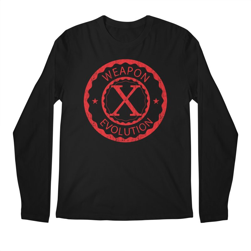WXE (Red) Men's Longsleeve T-Shirt by Weapon X Evolution merchandise