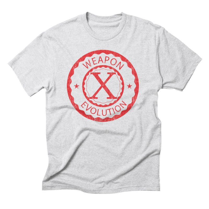 WXE (Red) Men's T-Shirt by Weapon X Evolution merchandise