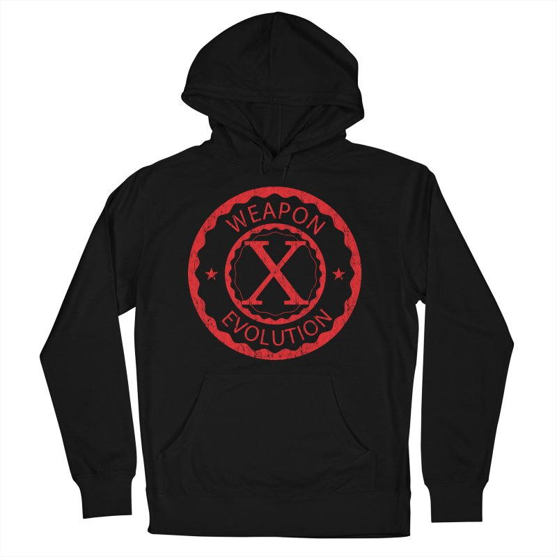 WXE (Red) Men's Pullover Hoody by Weapon X Evolution merchandise