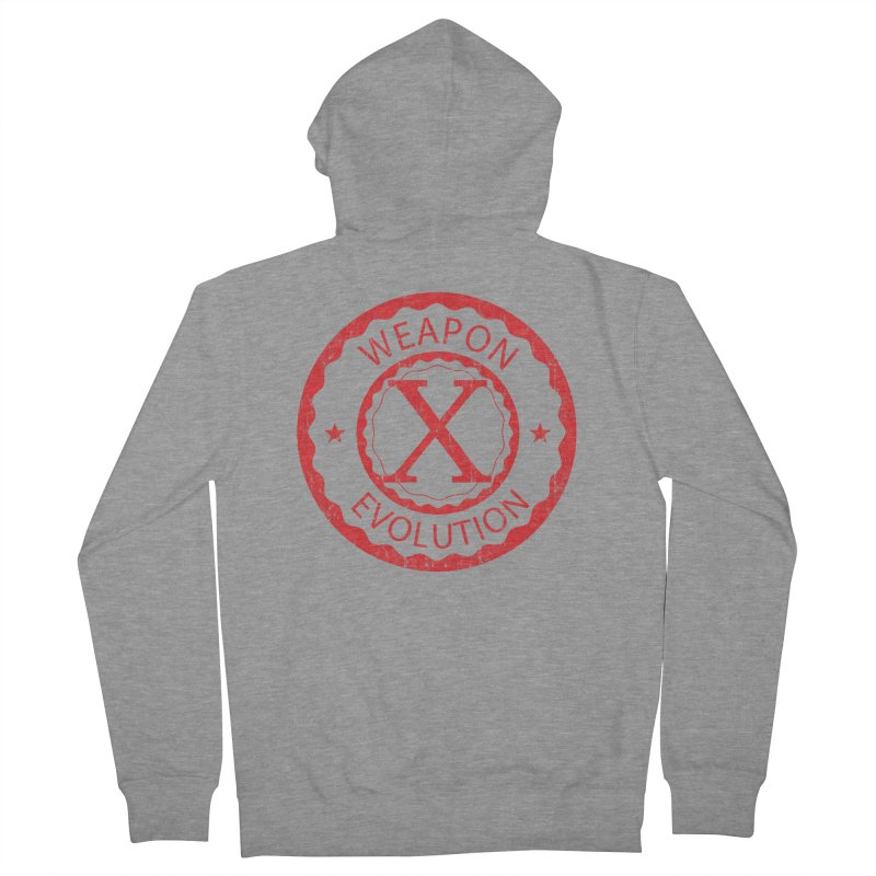 WXE (Red) Women's French Terry Zip-Up Hoody by Weapon X Evolution merchandise