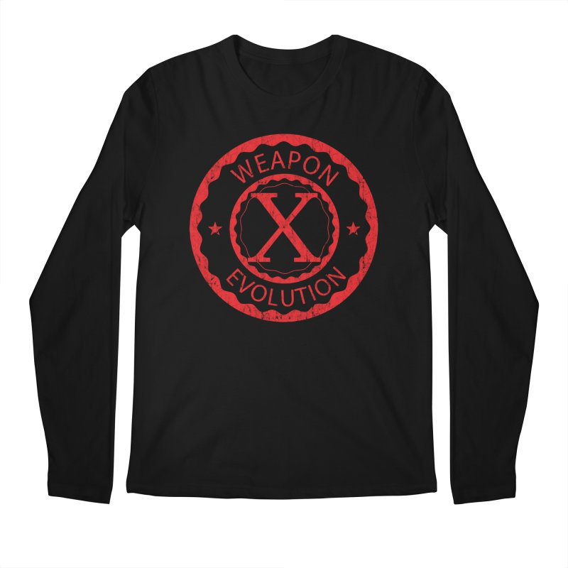 WXE (Red) Men's Regular Longsleeve T-Shirt by Weapon X Evolution merchandise
