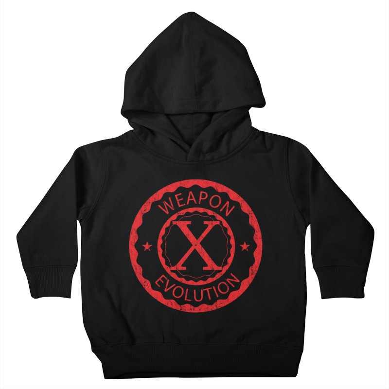 WXE (Red) Kids Toddler Pullover Hoody by Weapon X Evolution merchandise