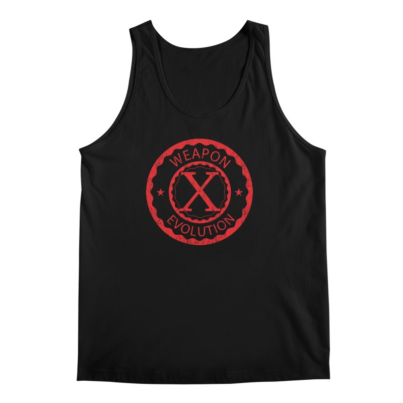 WXE (Red) Men's Regular Tank by Weapon X Evolution merchandise