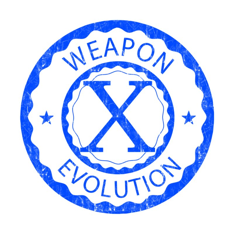 WXE (Blue) Men's Zip-Up Hoody by Weapon X Evolution merchandise