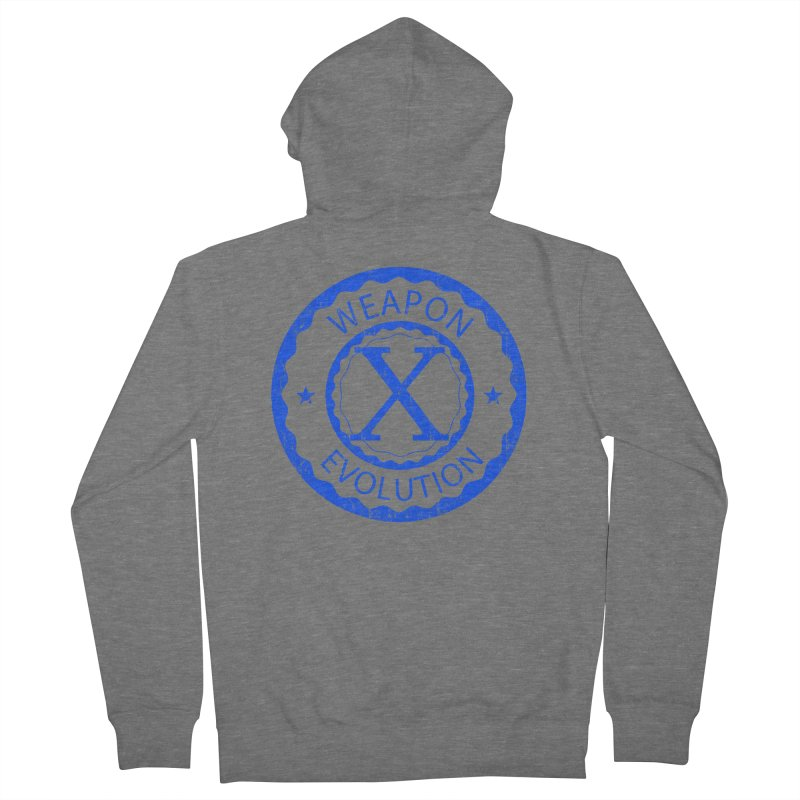 WXE (Blue) Women's Zip-Up Hoody by Weapon X Evolution merchandise
