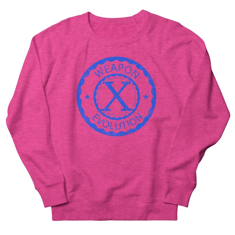 WXE (Blue) Women's Sweatshirt by Weapon X Evolution merchandise