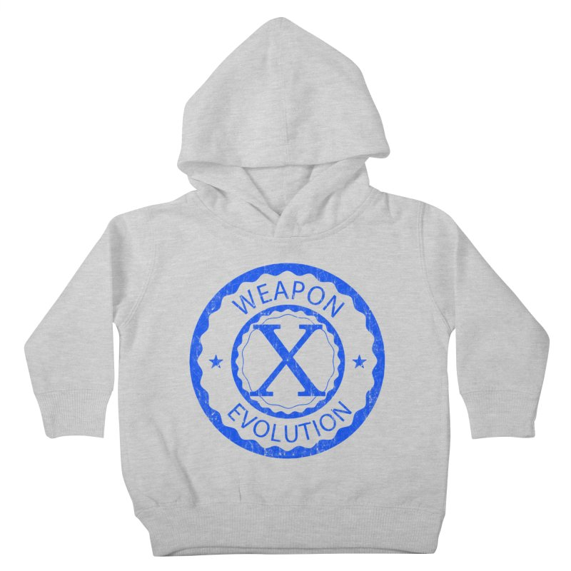 WXE (Blue) Kids Toddler Pullover Hoody by Weapon X Evolution merchandise