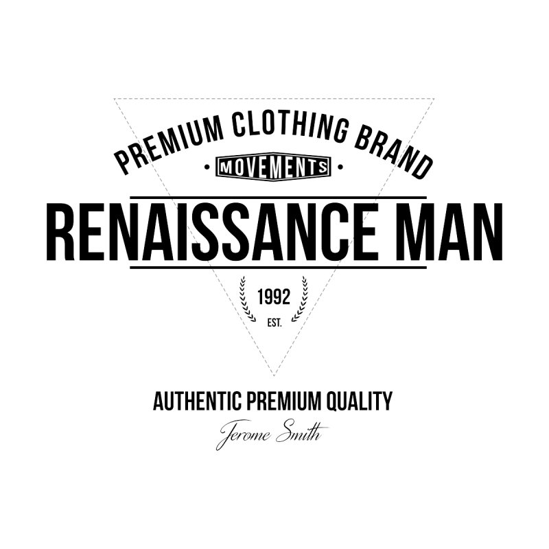 Renaissance Man Kids Baby T-Shirt by Weapon X Evolution merchandise