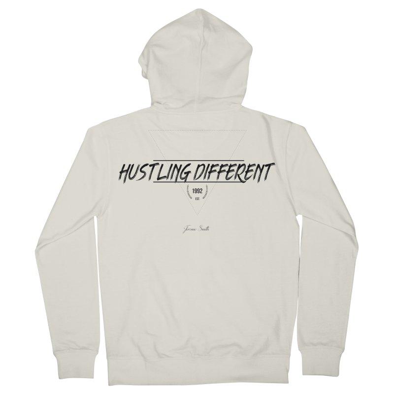 Hustling Different Women's Zip-Up Hoody by Weapon X Evolution merchandise