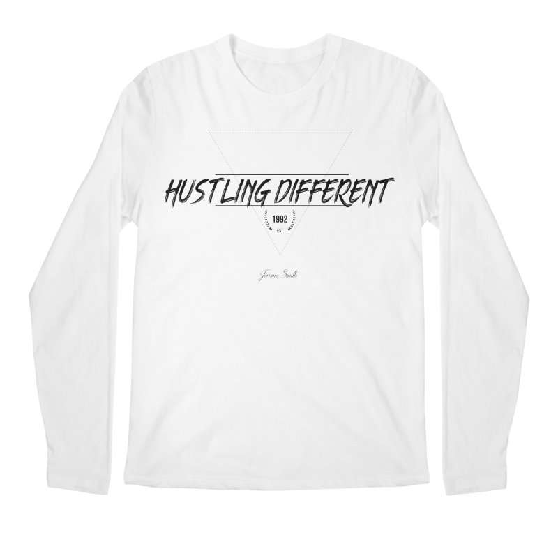 Hustling Different Men's Regular Longsleeve T-Shirt by Weapon X Evolution merchandise