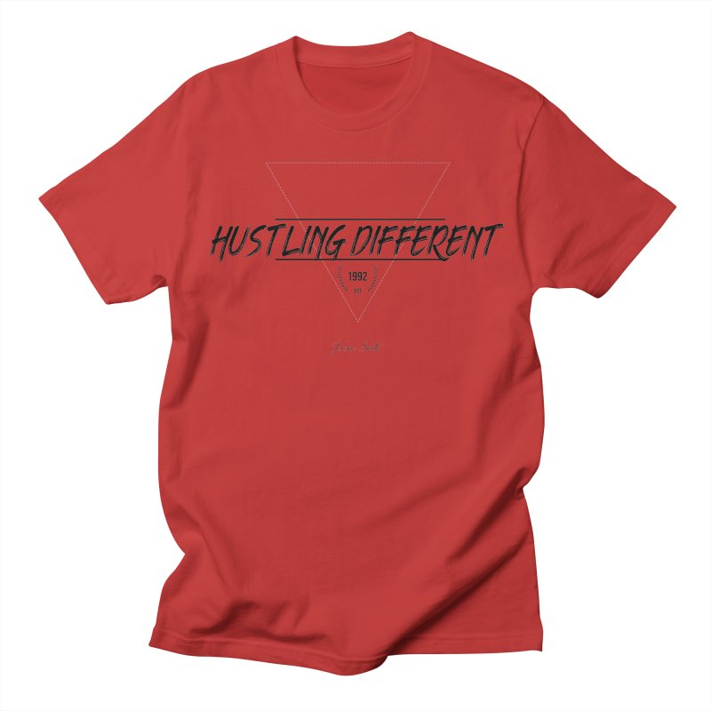 Hustling Different Men's Regular T-Shirt by Weapon X Evolution merchandise