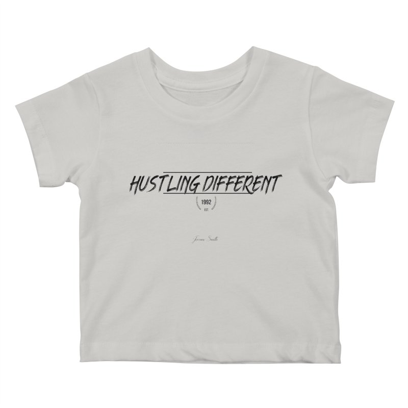 Hustling Different Kids Baby T-Shirt by Weapon X Evolution merchandise