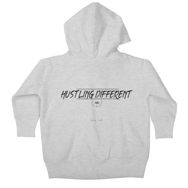 Hustling Different Kids Baby Zip-Up Hoody by Weapon X Evolution merchandise