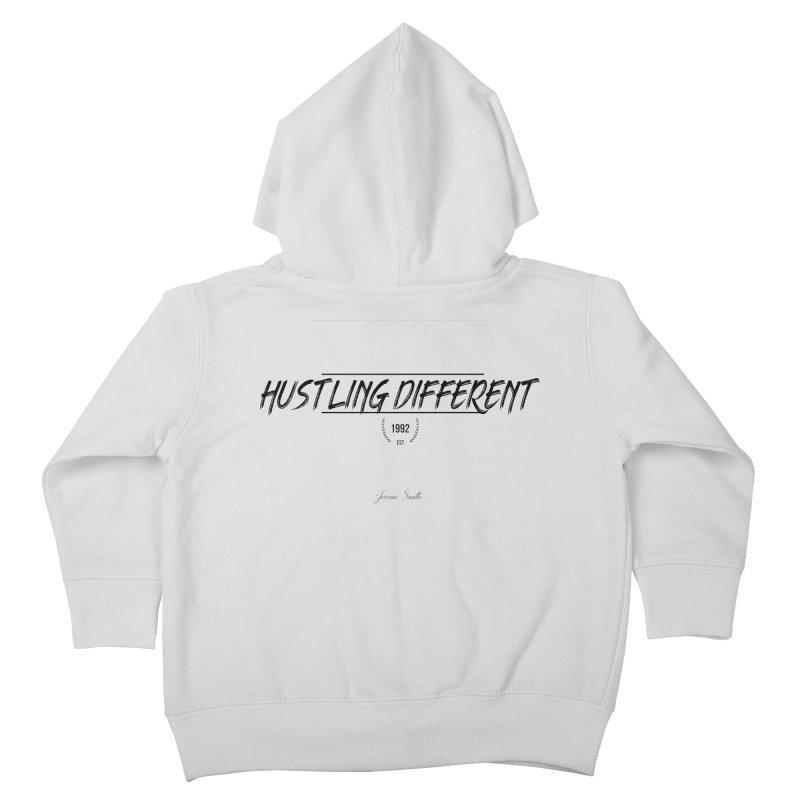 Hustling Different Kids Toddler Zip-Up Hoody by Weapon X Evolution merchandise