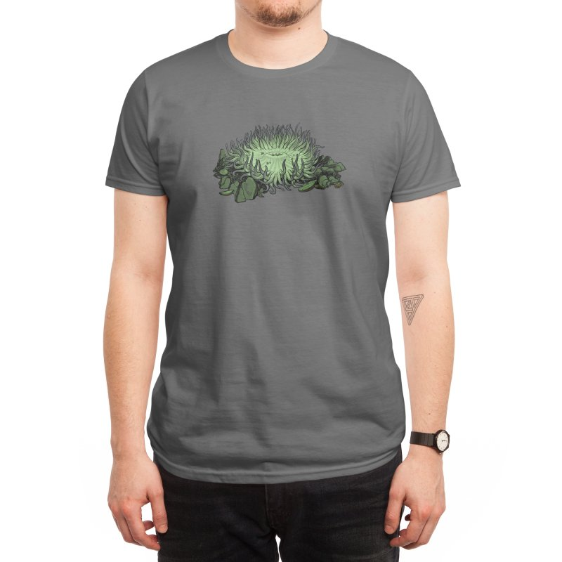 Sea Anemone Men's T-Shirt by We Are California Grown's Artist Shop