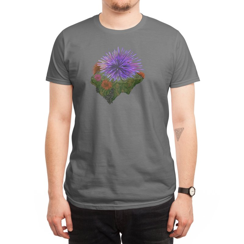 Sea Urchin Men's T-Shirt by We Are California Grown's Artist Shop