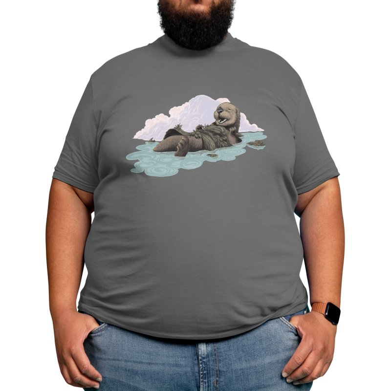 Sea Otter Men's T-Shirt by We Are California Grown's Artist Shop